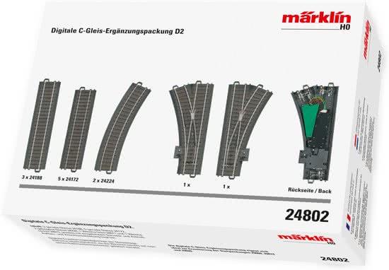 Marklin digitale uitbreidingsset d2