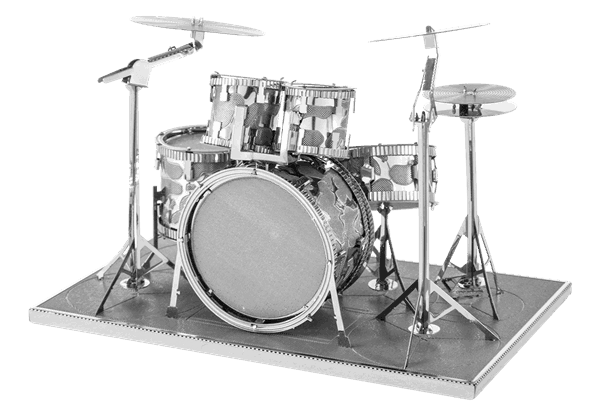Metal Earth Drumset - 3D puzzel