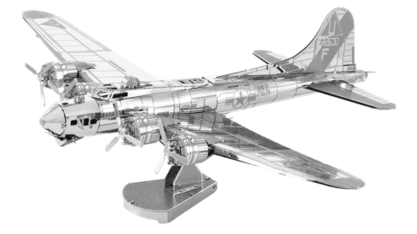 Metal Earth Modelbouw 3D B17 Flying Fortress - Metaal