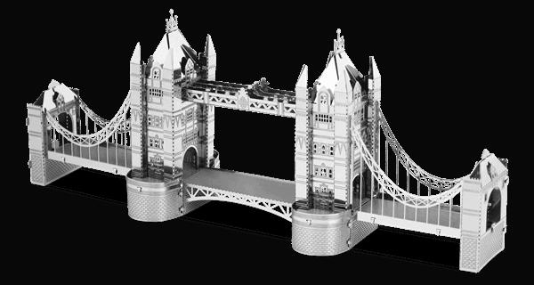 Metal Earth Modelbouw 3D London Tower Bridge - Metaal