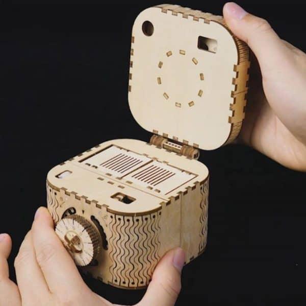 3D Modelbouw Kluis Treasure box