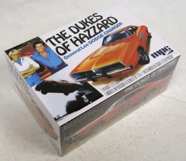 Bouwpakket Auto uit The Dukes of Hazard - Modelbouwpakket - General Lee Dodge Charger