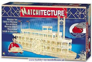 Matchitecture Mississippi radarboot