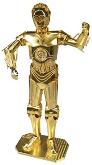 Metal Earth Star Wars C-3PO GOLD - 3D-puzzel
