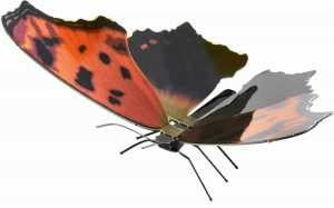 Metal Earth constructie speelgoed Eastern Comma Butterfly