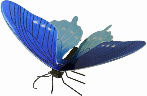 Metal Earth constructie speelgoed Pipevine Swallowtail Butterfly