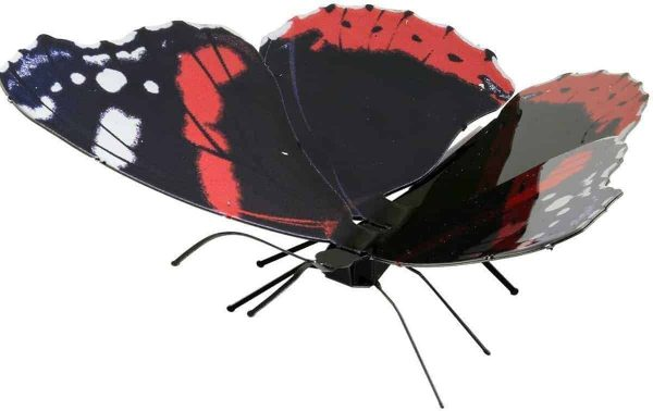Metal Earth constructie speelgoed Red Admiral Butterfly