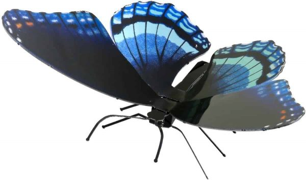 Metal Earth constructie speelgoed Red-Spotted Purple Butterfly