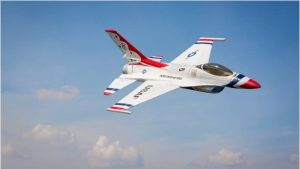 Model Aircraft Company RC Vliegtuig E-Flite UMX F-16 BNF Basic met AS3X-Technologie