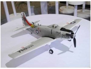 Model Aircraft Company RC Vliegtuig FMS A-1 Skyraider 800 mm Serie PNP Grey