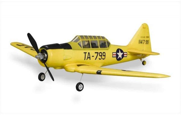 Model Aircraft Company RC Vliegtuig FMS AT-6 Harvard PNP Yellow 800 mm serie
