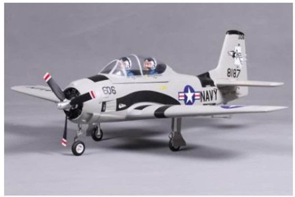 Model Aircraft Company RC Vliegtuig FMS T-28 Trojan Gray PNP 800 mm serie