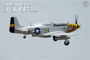 Model Aircraft Company RC Vliegtuig P-51 Mustang Blue PNP 800 mm serie