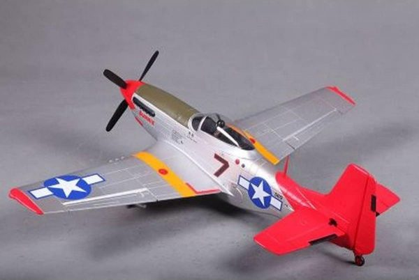 Model Aircraft Company RC Vliegtuig P-51 Mustang Red Tail FMS 800 mm serie