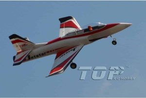 Model Aircraft Company RC Vliegtuig Top RC Hobby Jet Star Ducted Fan ,red,RTF