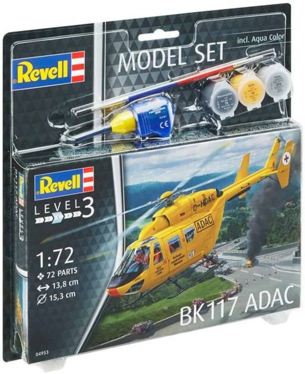 Model Set BK-117 ADAC