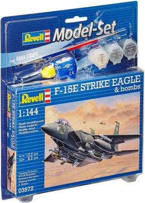 Model Set F-15E STRIKE EAGLE & b