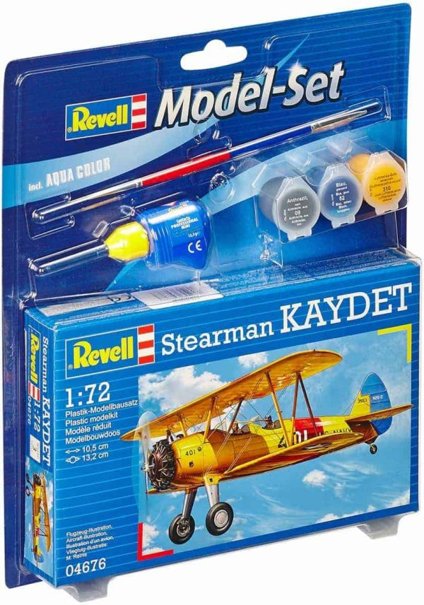 Model Set Stearman Kaydet