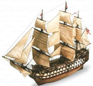Revell Boot H.M.S. Victory - Bouwpakket - 1:225