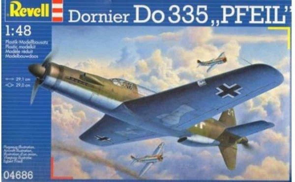 Revell Dornier Do 335 Pfeill