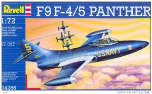 Revell F9F-4/5 Panther