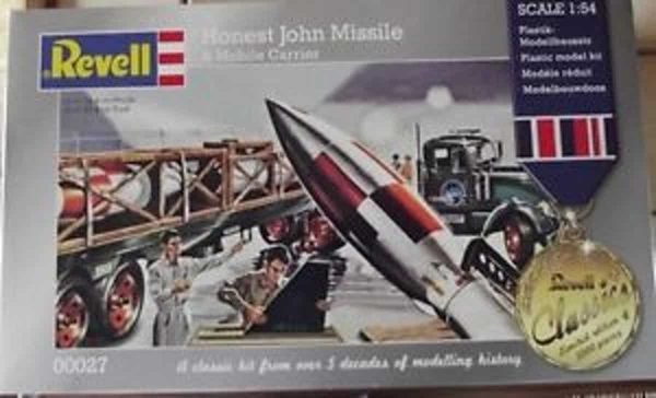 Revell Honest John Missile & Mobile Carrier