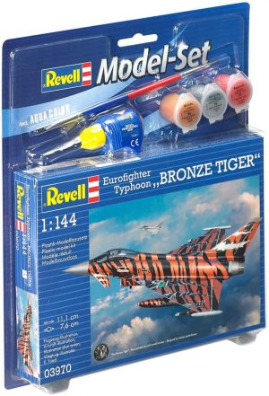 Revell Model Set Eurofighter 'Bronze Tiger' Vliegtuig