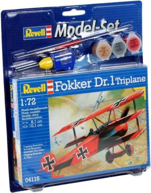 Revell Model Set - Fokker DR.1