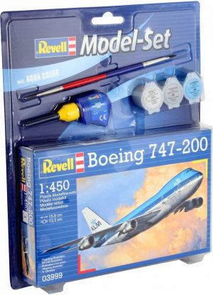 Revell Model Set - KLM Boeing 747-200