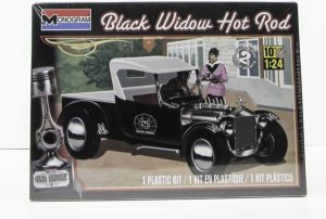 Revell modelbouw kunststof Black Widow Hot Rod