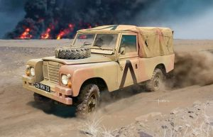 Revell modelbouw kunststof British 4x4 Off-Road Vehicle