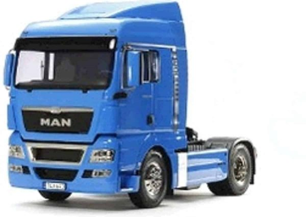 Tamiya 1/14 MAN TGX 18.540 4x2 XLX French Blue 56350