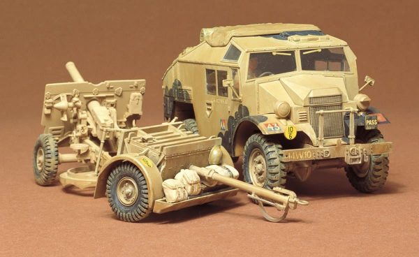 Tamiya British 25 Pounder Gun Quad