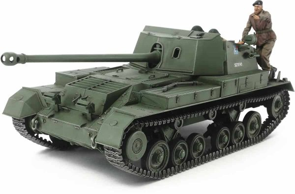 Tamiya British Anti Tank Gun Archer Self Propelled