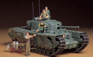 Tamiya British Churchill MkVII Infantry Tank MkIV