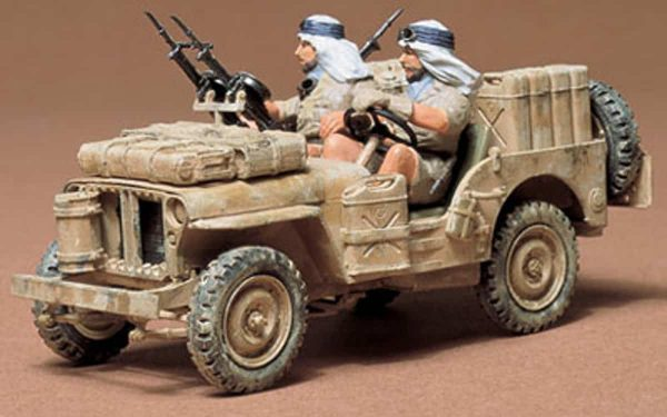Tamiya British SAS Jeep