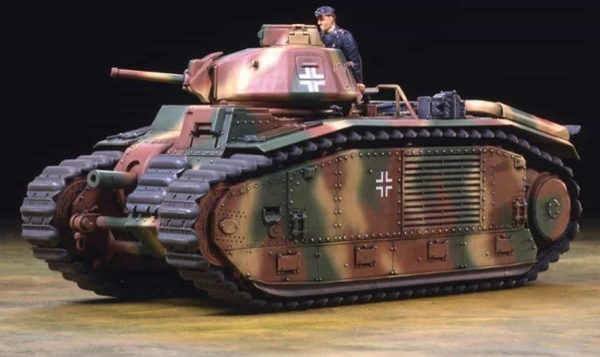 Tamiya Char B1 bis (German Army)