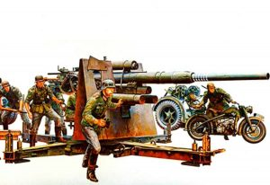 Tamiya German 88mm Gun Flak 36.37
