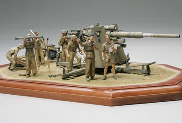 Tamiya German 88mm Gun Flak36 North African Campaign