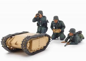 Tamiya German Assault Pioneer Team with Goliath Set