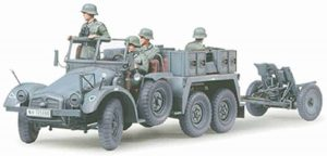 Tamiya German Krupp Towing Truck with 37mm Pak