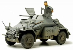 Tamiya German Sd.Kfz 222 met Photo Etched Onderdelen