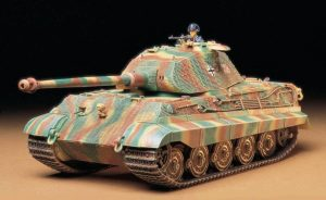 Tamiya King Tiger Porsche Turret