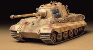 Tamiya King Tiger Production Turret