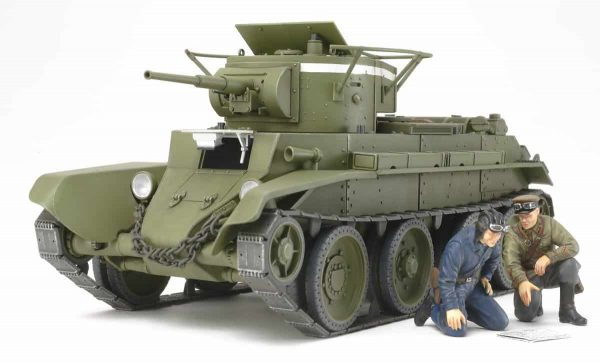 Tamiya Russian Tank BT7 Model 1935
