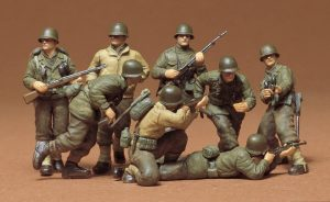 Tamiya US Infantry European Theater Kit