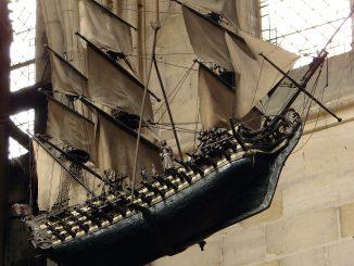 Geschiedenis modelbouw notre dame houten ship